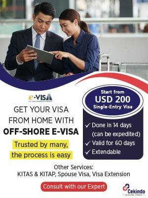 Offshore Visa Promo - Popup Banner